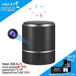 Speaker Security Camera by WEMLB - HD 1080P WiFi Camera - Wi