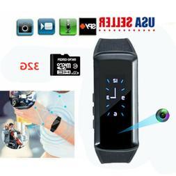 Sport Watch Hidden Cameras HD 1080P Smart Bracelet Mini Vide