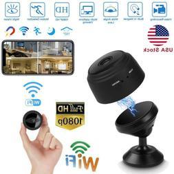 Spy Camera Wireless Hidden WiFi Mini Camera HD 1080P Nanny C