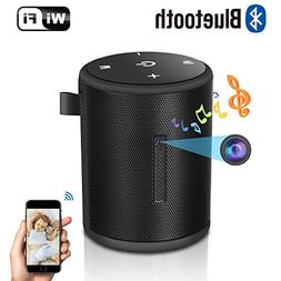 Spy Hidden Camera with Bluetooth Wireless Speaker-HD 1080P W