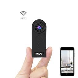 Wireless Hidden Camera 1080P HD Mini WiFi Camera Spy Cam Sma