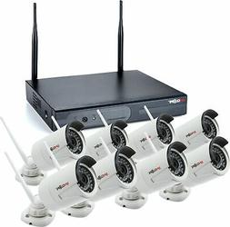 SPYCLOPS SPY-NVR8720W 8-Channel Router & Wireless Camera Kit