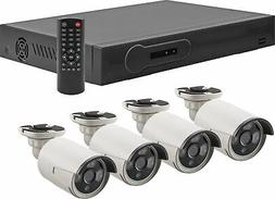 Metra Spyclops 4 Channel POE NVR Kit w/ 4 Cameras and 1TB HD