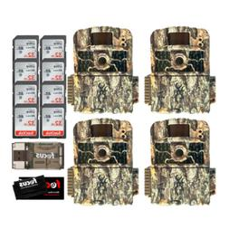 Browning Trail Cameras Strike Force HD MAX 4-Pack w/ 32GB SD
