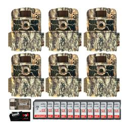 Browning Trail Cameras Strike Force HD MAX 6-Pack w/ 32GB SD