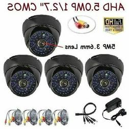 """Sunvision x4 5.0MP AHD 1/2.7"""" Hydrid Effie In/outdoor HD Cam"""