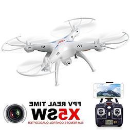 Cheerwing Syma X5SW UAV FPV 2.4Ghz 4CH 6-Axis Gyro RC Qucopt