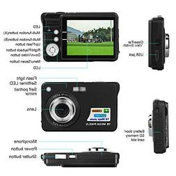 Studyset HD TFT LCD Mini Digital Camera with 2.7 Inch Displa