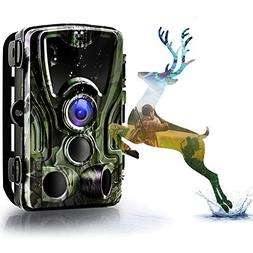 Binrrio Trail Game Camera 16MP 1080P HD Wildlife Hunting Cam
