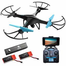 NEW Force1 U45W Blue Jay WiFi FPV Quadcopter Drone w/ HD Cam