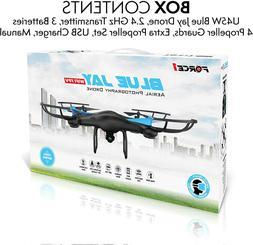 Force1 U45W WiFi FPV Blue Jay Drones720p HD Camera, Altitude