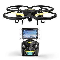 Force1 UDI U818A Wifi FPV Drone with HD Camera, Remote Contr