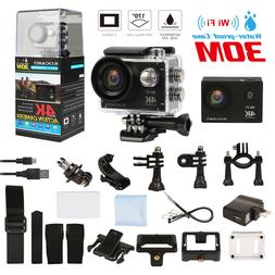Ultra HD 4K WIFI Sports Action Camera Waterproof DV Camcorde