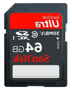 SanDisk Ultra 16GB SDHC Class 10/UHS-1 Flash Memory Card Spe
