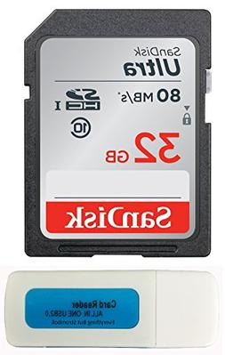 SanDisk 32GB Ultra SDHC Memory Card works with Kodak PIXPRO