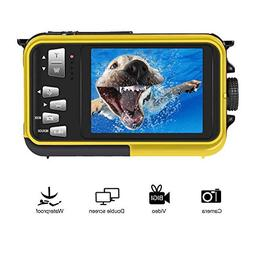 Underwater Camcorder Waterproof Camera Full HD 1080P for Sno