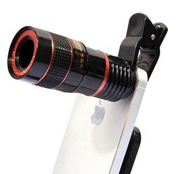 Universal Clip-on 8X Optical Zoom HD Monocular Telescope Cam