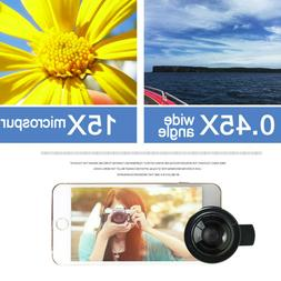 Universal Professional HD Camera Lens Kit For iPhone/Samsung