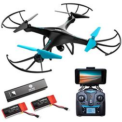 Force1 Drone with Camera Live Video - U45WA WiFi FPV Drones