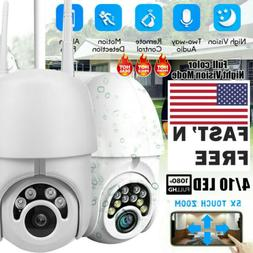 1080P HD CCTV IP Camera Waterproof Outdoor WiFi PTZ Security