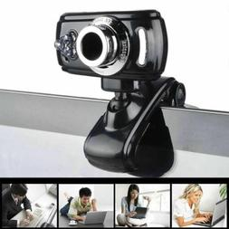 USB 50 Megapixel HD Camera Web Cam 360° With MIC Clip-on fo