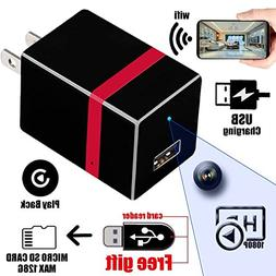 USB Hidden Camera - Spy Camera - HD 1080P - WiFi Remote View