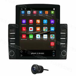 Vertical 9.7'' Touch Android 9.1 Car Stereo Radio GPS Navi W