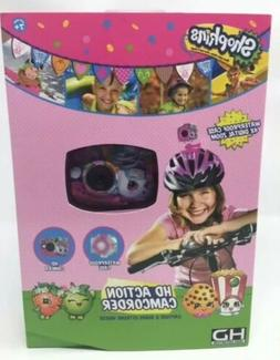 Shopkins Video HD Action Camcorder Camera Girls Gift Vacatio