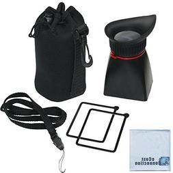 Professional LCD Viewfinder 200%  Magnification for DSLR Cam