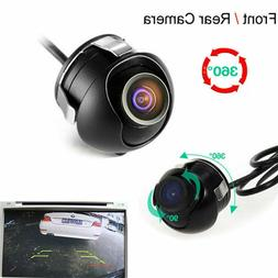 Waterproof 360° HD CCD Car Auto Rear View Night Vision Back
