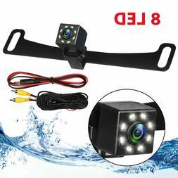 Waterproof Car License Plate CMOS 170° Rearview Reverse Bac