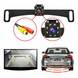 Waterproof Car License Plate CMOS 170 Rearview Reverse Backu