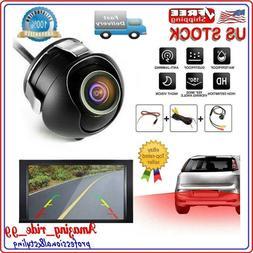 Waterproof CCD 360 ° HD Car Rear View Backup Reverse Parkin