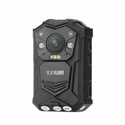 MIUFLY 1296P HD Waterproof Police Body Camera with 2 Inch Di