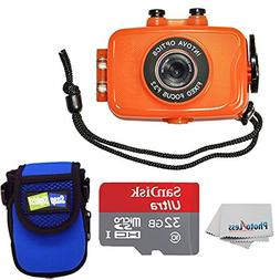 Intova Duo Waterproof HD POV Sports Video Action Camera With