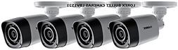 Lorex 720P HD Weatherproof Night Vision Security Camera 4 Pa