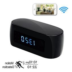 Daretang 1080P Hd WIFI Clock Hidden Spy Camera with Night Vi