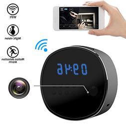 Wifi Hidden Camera Spy mini Cameras Clock HD 1080P Security