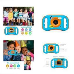 AMKOV WiFi Kids Camera Rechargeable 1080P HD Digital Childre
