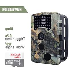 16MP HD Wildlife camera Train & Game Home security, Infrared