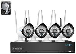 Reolink NVR Wireless System with 4 Camera