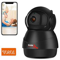 Wireless 1080P IP Camera, ANRAN WiFi Home Security Surveilla