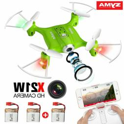 Syma X21W Wifi FPV Mini Drone With Camera Live Video LED Nan