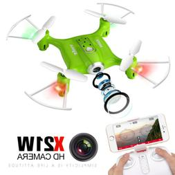 Syma X21W HD Camera Drone with WIFI FPV 2.4G 6-Axis Gyro Hov