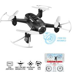 SYMA X22W RC HD Camera Drone with WIFI FPV Real Time Headles