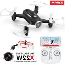 Syma X22W RC 640P HD Camera Drone Wifi FPV Quadcopter Altitu