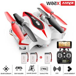 SYMA X56W Folding 2.4G RC Quadcopter WIFI FPV HD Camera Dron