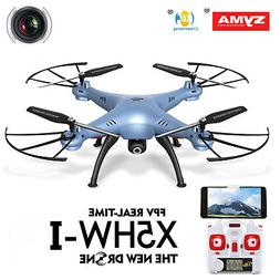 Syma X5HW FPV 4CH RC Quadcopter Drone with HD Wifi Camera Ho