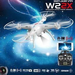 Syma X5SW 2.4G 4CH 6 Axis Gyro RC Drone Quadcopter w/ 2MP HD