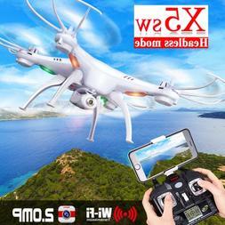 Syma X5SW RC Quadcopter Build in HD Camera with WIFI FPV Rea